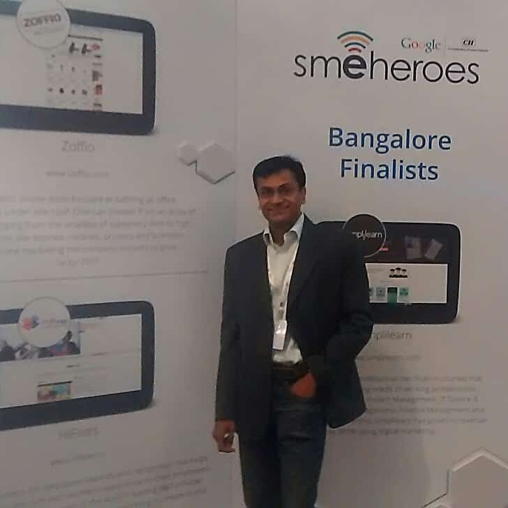 HiFives® one of five finalists of Google SME Heroes-Bangalore